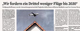 Wolfgang Hoffmann im Interview mit dem Kölner Stadtanzeiger